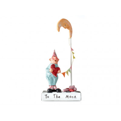 Figur, To the Moon and back, 17 cm
