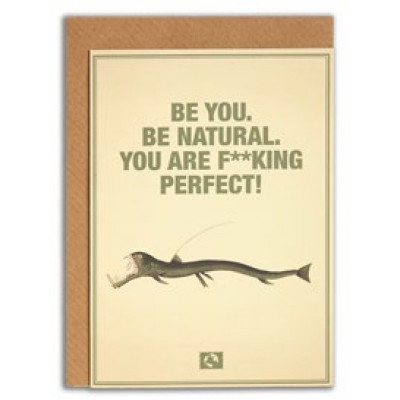 Kort, Be you, be natural. you are f**king perferkt