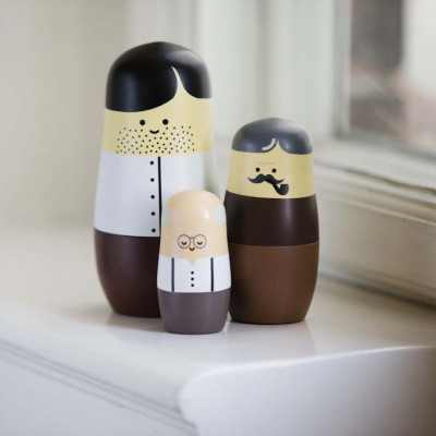 Expressions - Nesting Dolls - FATHERS
