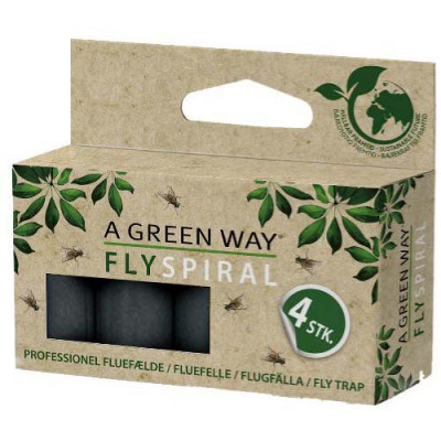 Green Protect Fluespiral, 4-pack