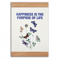 Happiness is the purpose of life, 2-in-one