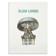 Slow living, plakat