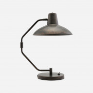 Bordlampe Desk, Antik brun