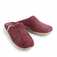 EGOS Slip On Simple, Bordeaux - størrelse 40