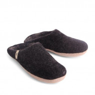 EGOS Slip On Simple, Black - størrelse 45