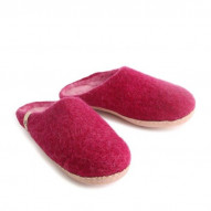 EGOS Slip On Simple, Cerise - størrelse 36