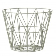 Wire Basket - Dusty Green - Large