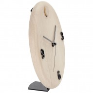 Wood time holder, Black