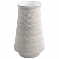 JUST, Grey Retro, vase, hvid