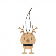 Oak. Medium Reindeer Ornament 2 stk.