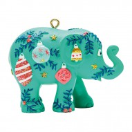 Christmas elephant for hanging, Baubles