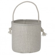 Grey Cross Basket - Mini