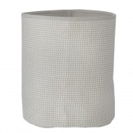 Grey Cross Basket - Medium