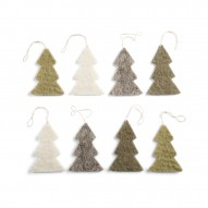 Trees, Set of 8 pcs