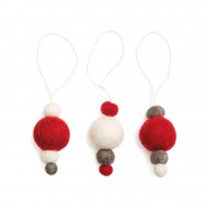 Balls on String, Set of 6 pcs