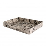Tray, Large, Marble