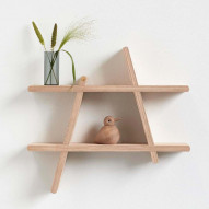 A-Shelf - medium, Oak