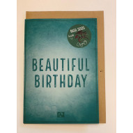 Kort, Beautyful birthday