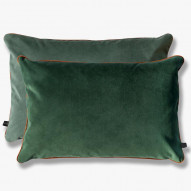 Mette Ditmer BLOCK pude, 40 x 60 cm, green/green