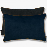 BLOCK Pude, dark blue/dark grey, 40x60 cm