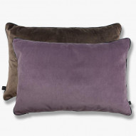 BLOCK pude, 40 x 60 cm, lilac/brown