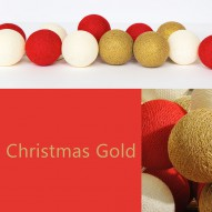 Happy Lights, Christmas gold, 35 bolde