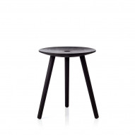 Di Volo Stool 45 cm, stained beech
