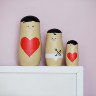 Expressions - Nesting Dolls - LOVE