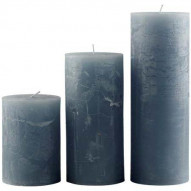 Rustic candle, Large - WINTERBLUE 75 timer