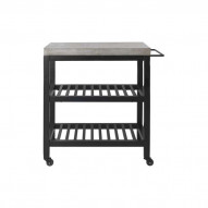 Concrete Nordic Bar Cart