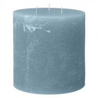 Rustic candle - WINTERBLUE 125 timer