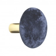 Hook Helene Velvet - M - ROYAL BLUE