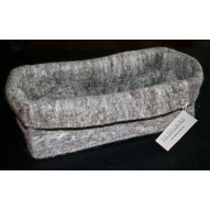 Big Felt Basket, Grey