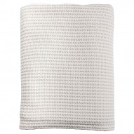 Sienna sengetæppe, Light Grey/Off-White, 140x250