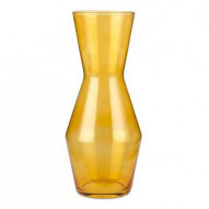 Double Up  Karaffel - Carafe / Vase yellow