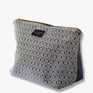 VENUS toilettaske, ikat/dark grey