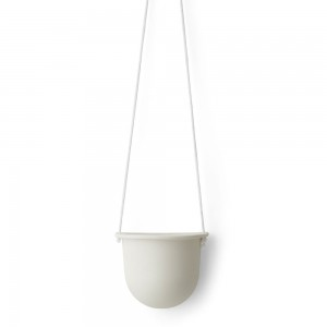 Hanging Vessel, white