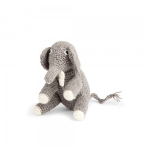 Mini Elephant, Dark Grey
