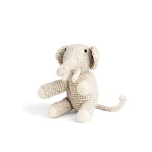 Mini Elephant, Light Grey