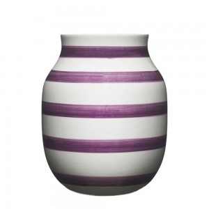 Omaggio vase, 20 cm, Blomme - Limited edition