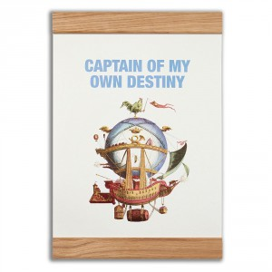 Captain of my own destiny, 2-in-one