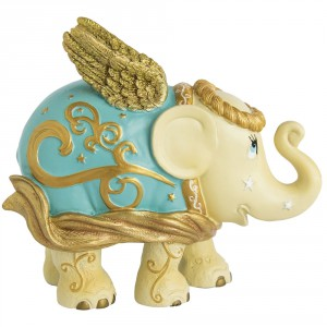 Christmas elephant, Golden Angel