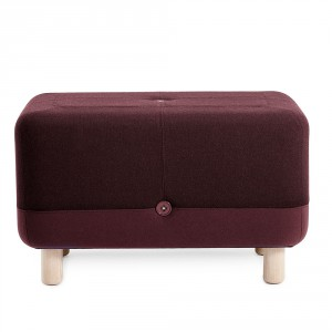 Sumo Pouf, Dark Red